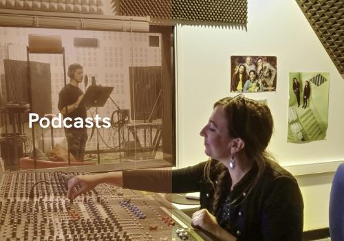menu podcasts